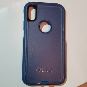 iPhone XR Otterbox case (blue) NEW